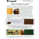 Ecopell Nappa Bioleder 323 - baby rosa